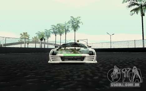 Toyota Supra VCDT para GTA San Andreas vista direita