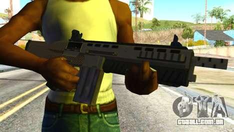 Assault Shotgun from GTA 5 para GTA San Andreas terceira tela
