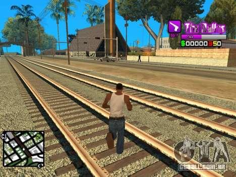 C-HUD Ballas by Inovator para GTA San Andreas terceira tela