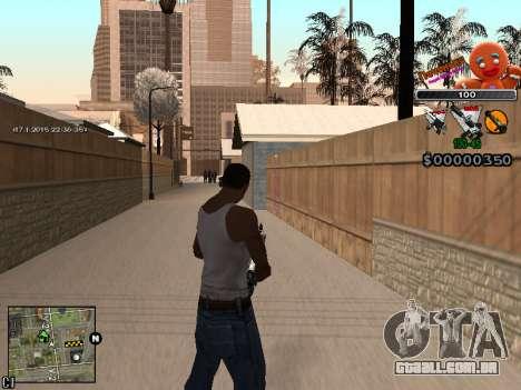 C-HUD Cookie para GTA San Andreas