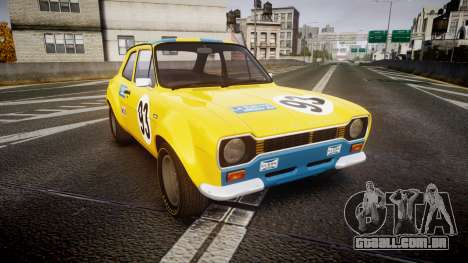 Ford Escort RS1600 PJ93 para GTA 4