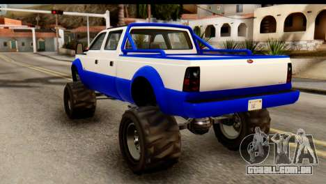 GTA 5 Vapid Sandking XL IVF para GTA San Andreas esquerda vista