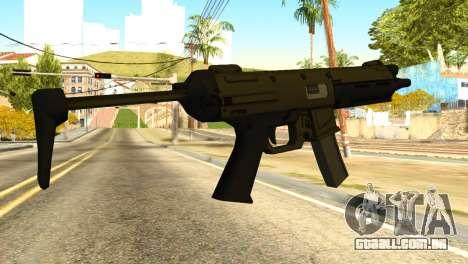 MP5 from GTA 5 para GTA San Andreas segunda tela