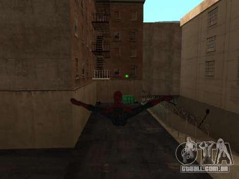 Spiderman Swinging v2.1 para GTA San Andreas segunda tela
