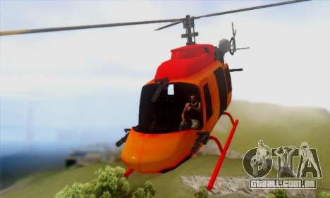 Bandit Maverick para GTA San Andreas traseira esquerda vista