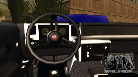 Chevy Monte Carlo para GTA San Andreas traseira esquerda vista