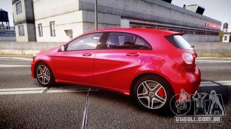 Mersedes-Benz A45 AMG para GTA 4 esquerda vista