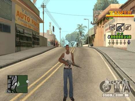 С-HUD por D. Correia para GTA San Andreas terceira tela