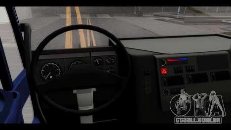 Iveco Eurotech (No Snow) para GTA San Andreas vista traseira