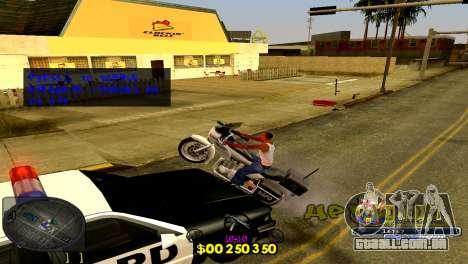 C-HUD Barcelona para GTA San Andreas terceira tela