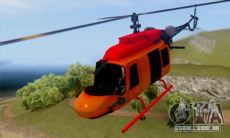 Bandit Maverick para GTA San Andreas vista traseira