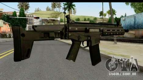 SCAR from from State of Decay para GTA San Andreas segunda tela
