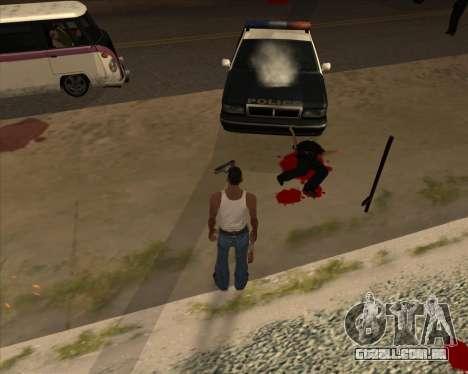Configurações De Ragdoll para GTA San Andreas segunda tela