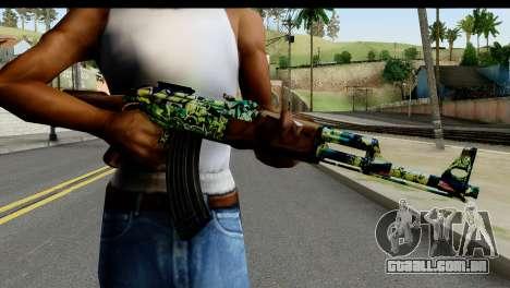 Grafiti AK47 para GTA San Andreas terceira tela