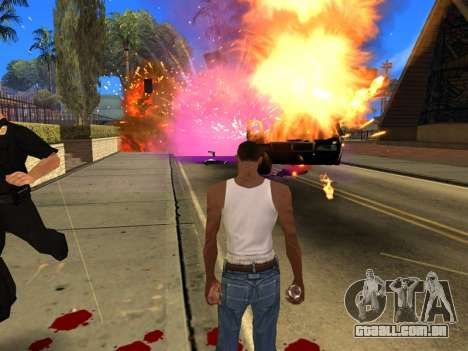 Fagot Funny Effects 1.1 para GTA San Andreas