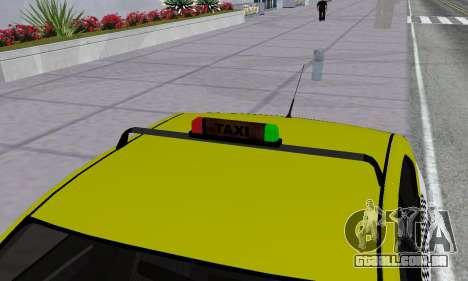 Dacia Logan Taxi para as rodas de GTA San Andreas
