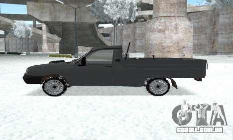 Dacia 1305 Papuc Pick-Up Drop Side 1.9D para GTA San Andreas vista direita