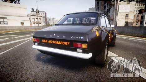 Ford Escort RS1600 PJ13 para GTA 4