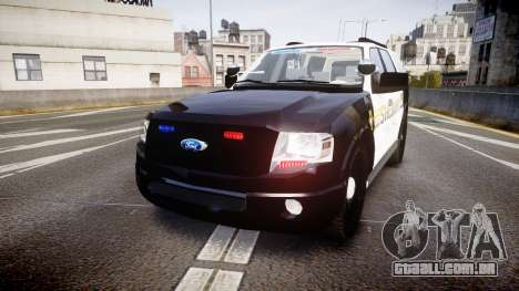 Ford Expedition 2010 Sheriff [ELS] para GTA 4