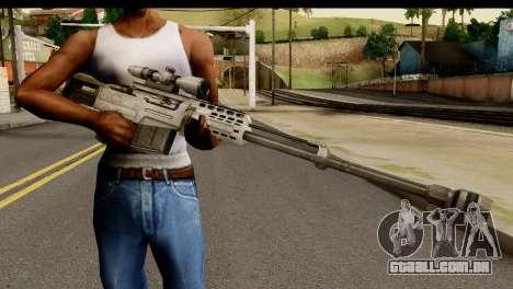 Accuracy International AS50 .50 BMG para GTA San Andreas terceira tela