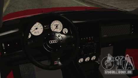 Audi RS2 Coupe para GTA San Andreas vista direita