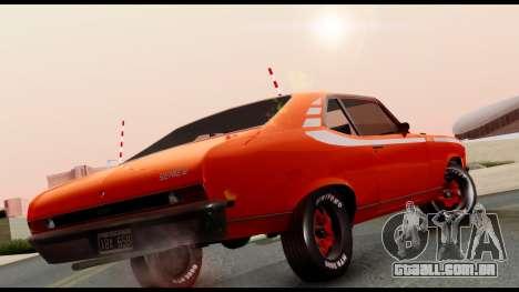 Chevrolet Series 2 1973 para GTA San Andreas traseira esquerda vista
