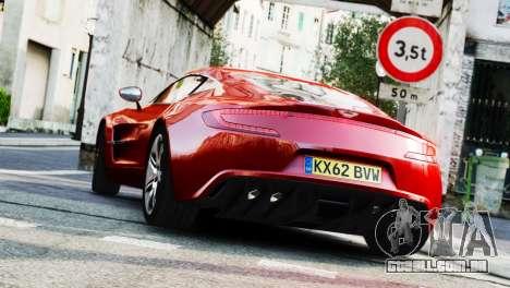 Aston Martin One-77 2010 [EPM] para GTA 4 esquerda vista