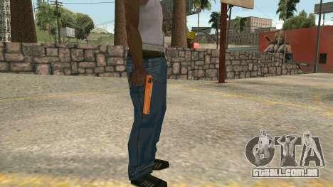 Orange Desert Eagle para GTA San Andreas segunda tela