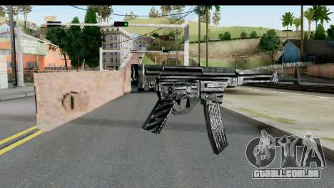 MP44 from Hidden and Dangerous 2 para GTA San Andreas