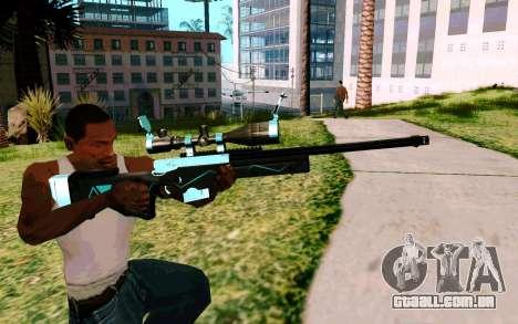 Blue Line Sniper para GTA San Andreas