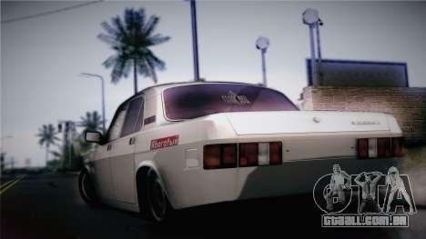 GAZ 24 Volga para GTA San Andreas esquerda vista