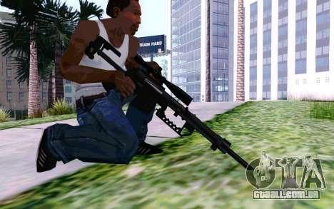Cheytac M200 Black para GTA San Andreas quinto tela