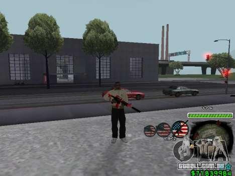 C-HUD for Ghetto para GTA San Andreas segunda tela