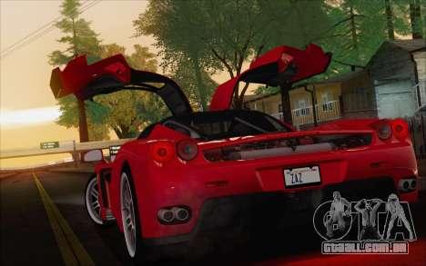 SA_nVidia: Capturas De Tela, Edição De para GTA San Andreas nono tela