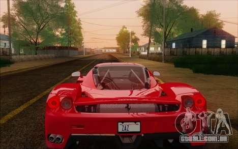 SA_nVidia: Capturas De Tela, Edição De para GTA San Andreas sétima tela