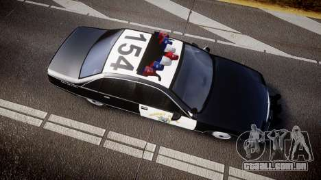 Chevrolet Caprice Highway Patrol [ELS] para GTA 4 vista direita