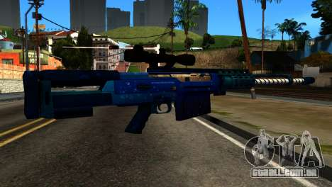 New Year Sniper Rifle para GTA San Andreas segunda tela