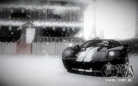 Inverno 2.0 ENBSeries para GTA San Andreas terceira tela