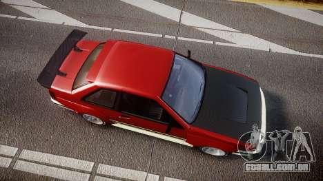 Karin Futo Drift X para GTA 4 vista direita