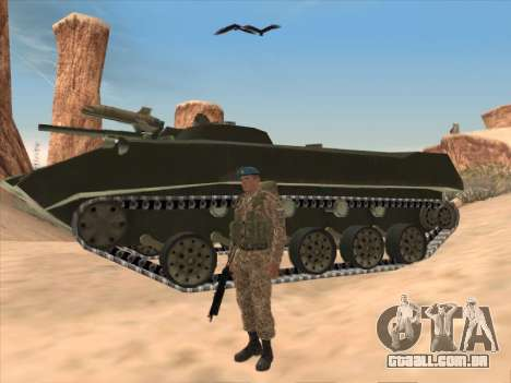 Granadeiro de tropas aerotransportadas da Federa para GTA San Andreas terceira tela