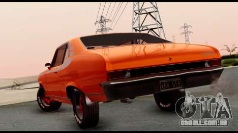 Chevrolet Series 2 1973 para GTA San Andreas esquerda vista