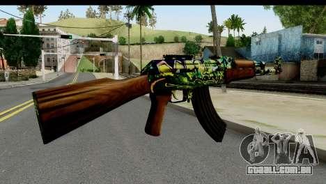 Grafiti AK47 para GTA San Andreas segunda tela