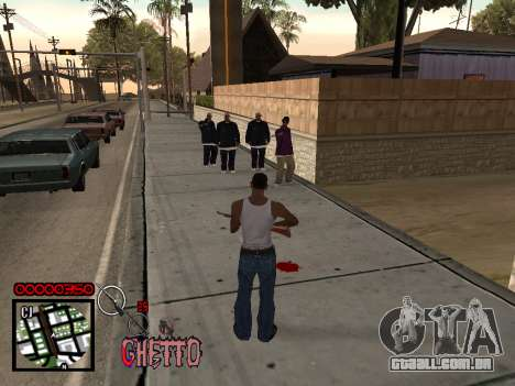 C-HUD by Jones para GTA San Andreas terceira tela