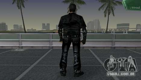 Tommi Black Skin para GTA Vice City por diante tela