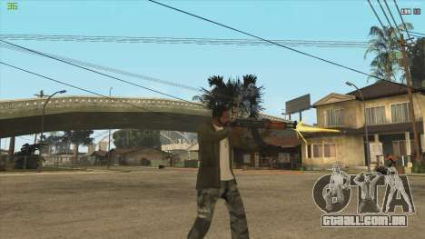 AK47 из Killing Floor para GTA San Andreas terceira tela