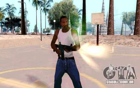 M4A1 (Dodgers) para GTA San Andreas segunda tela