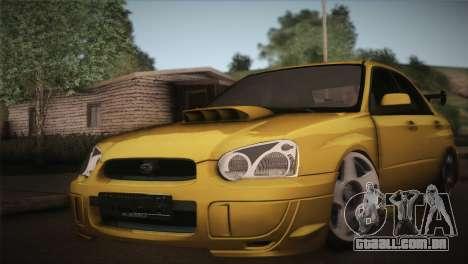 Subaru Impreza WRX STI JDM Style 2015 para GTA San Andreas