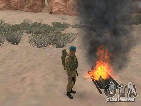 Granadeiro de tropas aerotransportadas da Federa para GTA San Andreas oitavo tela