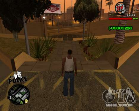 C-HUD by Jim para GTA San Andreas terceira tela