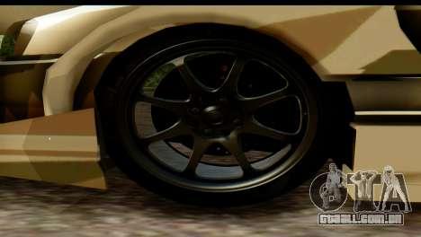 Nissan Skyline R34 Maxxis GT para GTA San Andreas vista direita